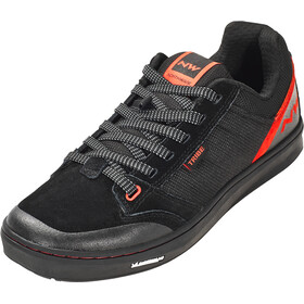 Northwave Tribe Scarpe Uomo, black/red